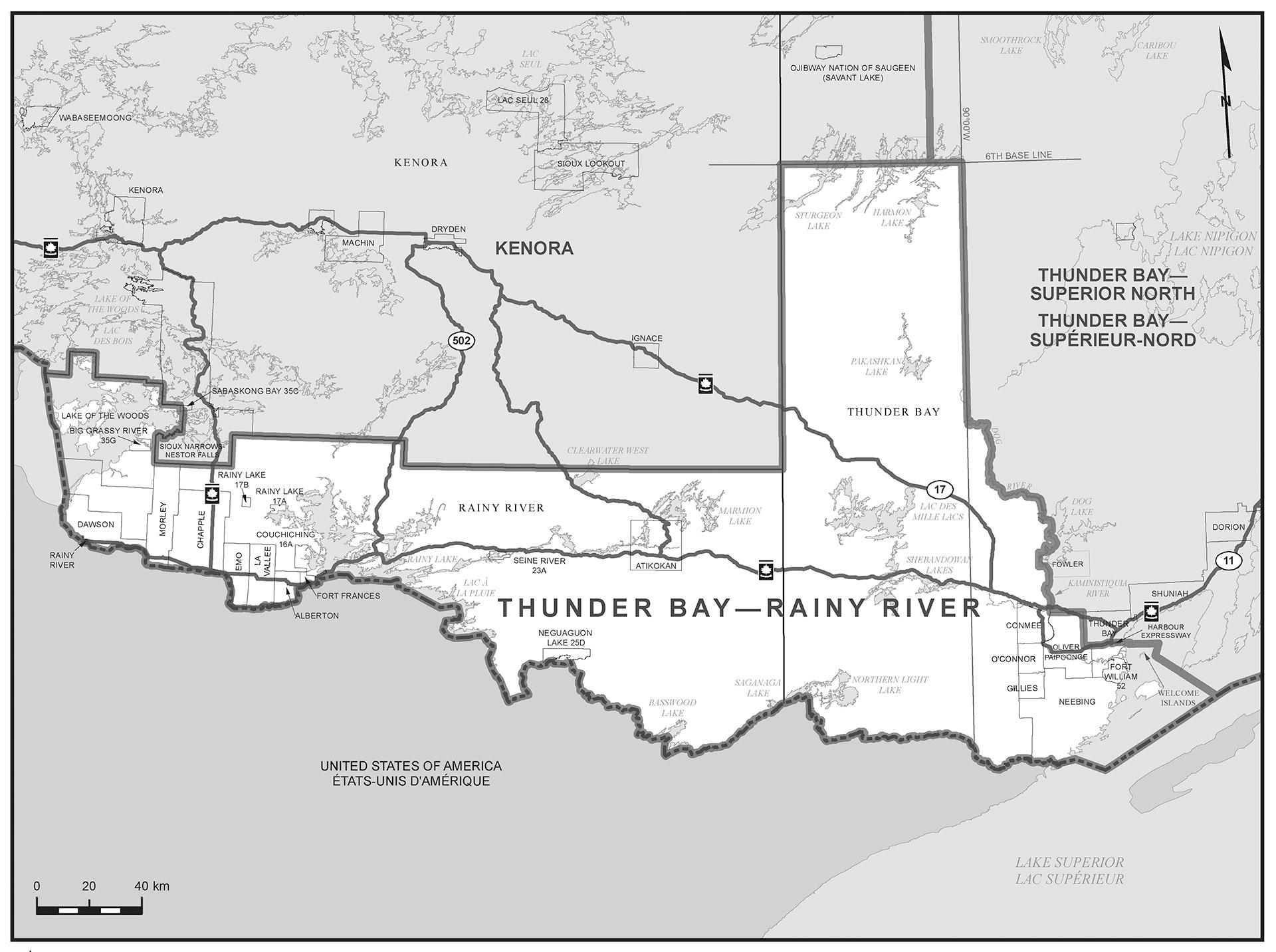 Rainy River Conservative Electoral District