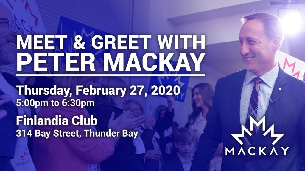 Meet & Greet Peter MacKay