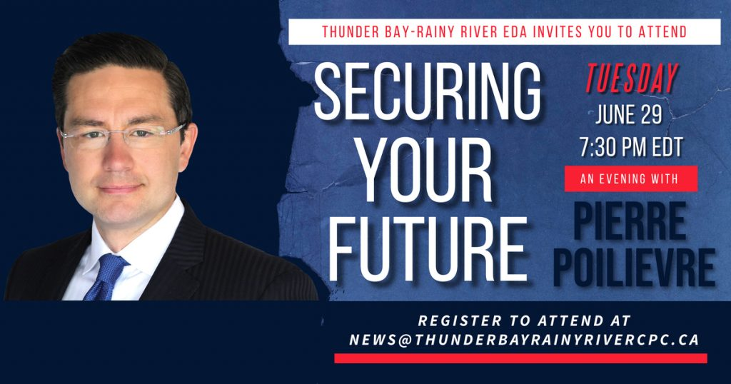 Securing Your Future - An Event with Pierre Poilevre